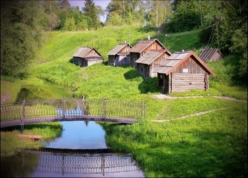 Самое красивое село россии