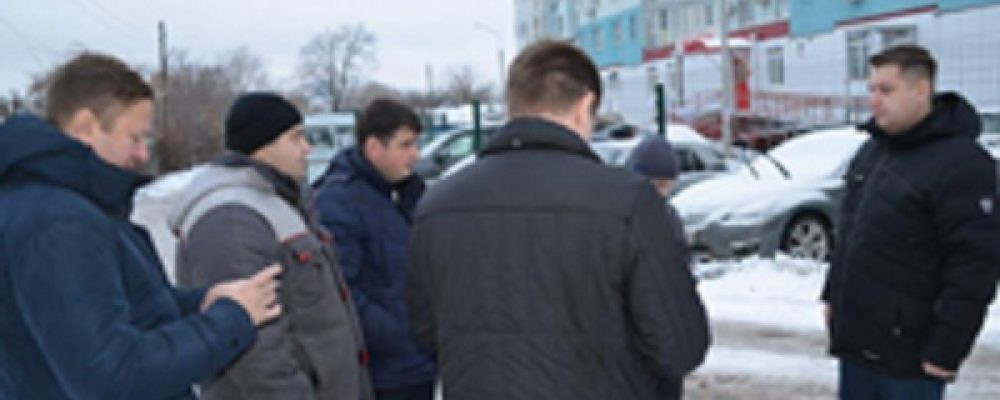 Руководитель управы Левобережного района провёл объезд территории