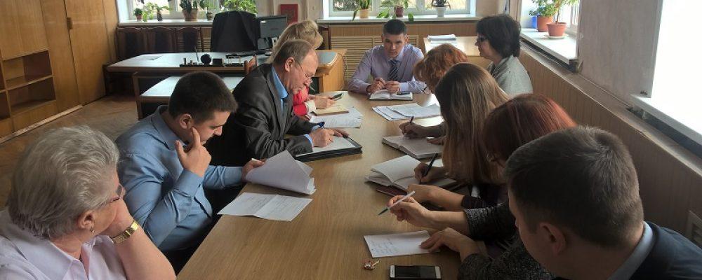 В управе района состоялось заседание организационного комитета по подготовке к празднованию Дня Победы