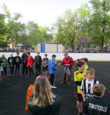 В Левобережном районе прошло открытие спортивного сезона «Лето 2019»