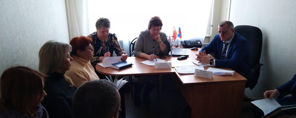 В управе Левобережного района прошел прием граждан в общественной приемной губернатора Воронежской области
