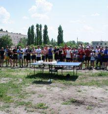 В Левобережном районе прошел спортивный праздник в честь Дня России