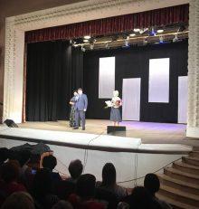 В Левобережном районе прошел праздничный концерт ко Дню социального работника