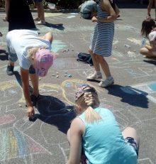 В Левобережном районе прошли мероприятия в рамках летней кампании «Уроки дружбы»