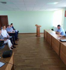 В управе Левобережного района прошло совещание с руководителями управляющих компаний и председателями ТОС