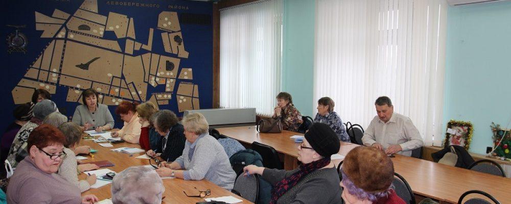 В Левобережном районе состоялось очередное заседание «Клуба ЖКХ»