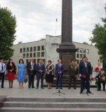 В Левобережном районе отметили День Великой Победы