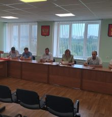 В Левобережном районе состоялось заседание административной комиссии при управе района