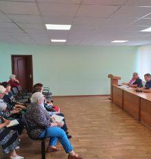 В управе Левобережного района прошло совещание с председателями ТОС