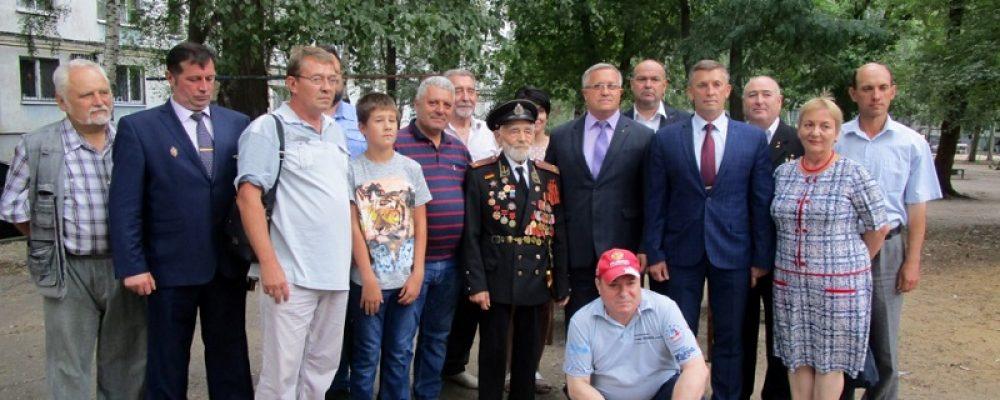 Участнику освобождения Воронежа Ивану Николаевичу Осадчуку исполнилось 103 года