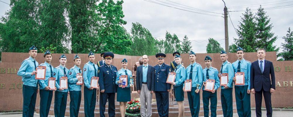 В Левобережном районе прошла военно-спортивная игра «Орлёнок»