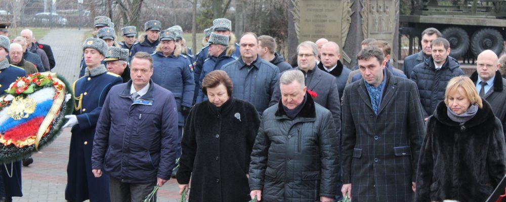 В Левобережном районе прошли мероприятия, посвященные Дню Героя Отечества