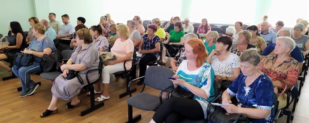 В Левобережном районе состоялся семинар «Пути развития комитетов ТОС в условиях рыночных отношений»