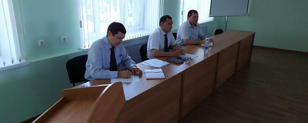 В Левобережном районе прошло совещание по вопросам обучения работников предпенсионного возраста