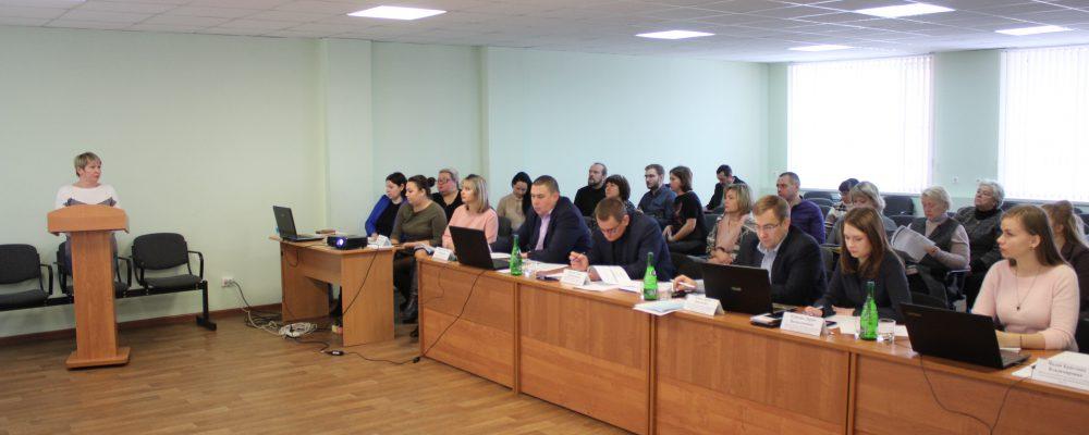 В Левобережном районе состоялась публичная защита общественно-полезных проектов ТОС.