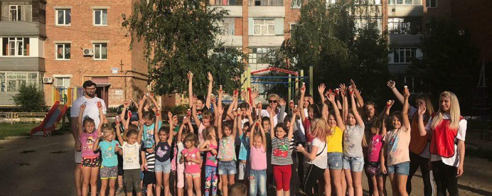 В Левобережном районе в рамках акции «Спорт для всех» прошел спортивный праздник