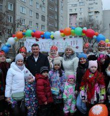 В Левобережном районе прошли народные гулянья, посвящённые празднованию «РУССКОЙ МАСЛЕНИЦЫ»!