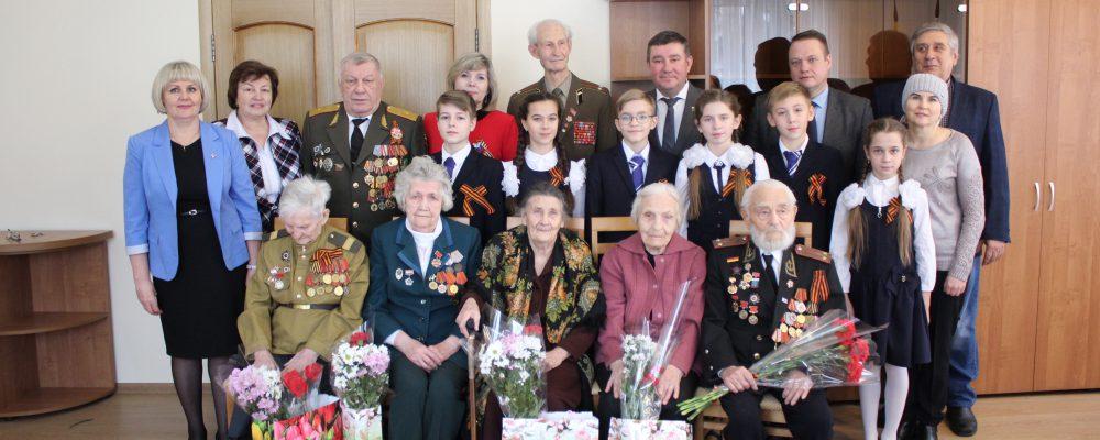 В преддверии празднования 77-ой годовщины освобождения города Воронежа от немецко-фашистских захватчиков в управе Левобережного района состоялся торжественный прием ветеранов Великой Отечественной войны.