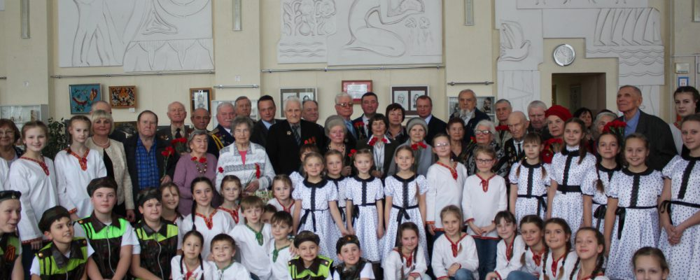 В рамках мероприятий посвященных Году памяти и славы в Левобережном районе прошёл  районный урок мужества «Боль и гордость России»