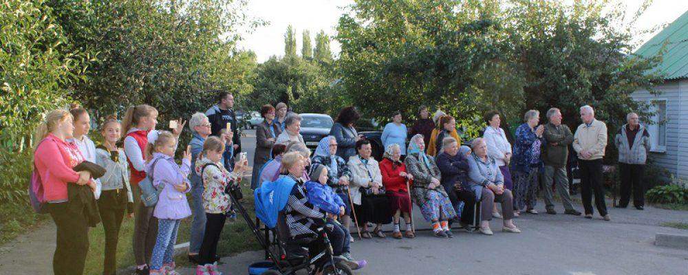 В Левобережном районе отметили 80-летний юбилей улицы 17 Сентября