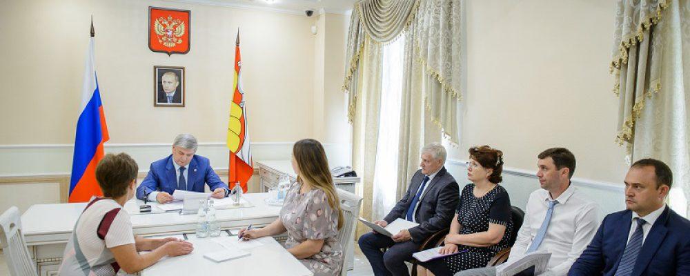 Жительница Левобережного района побывала на личном приеме граждан губернатора Воронежской области