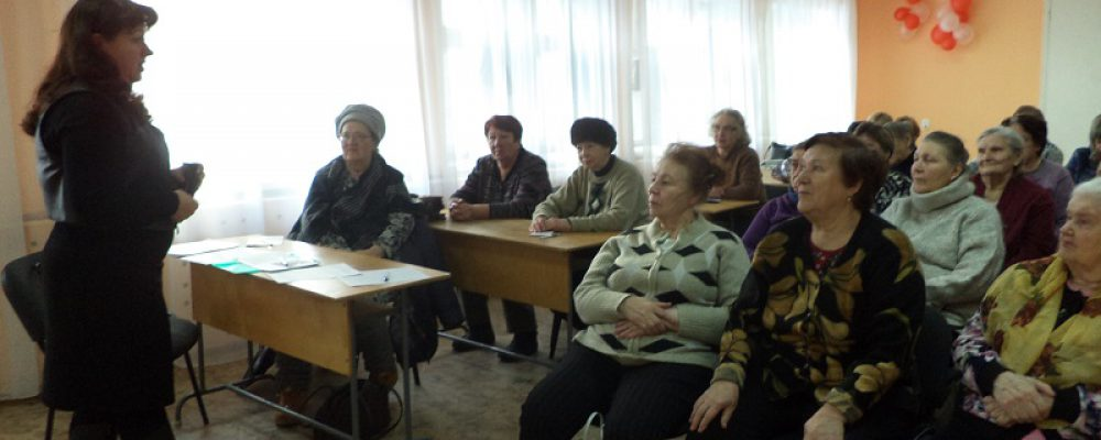 В Левобережном районе прошло очередное занятие для пенсионеров в рамках проекта «Школа безопасности»