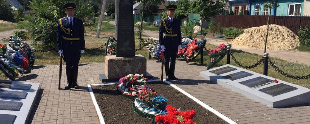 В Левобережном районе прошли мероприятия, посвященные Дню памяти и скорби