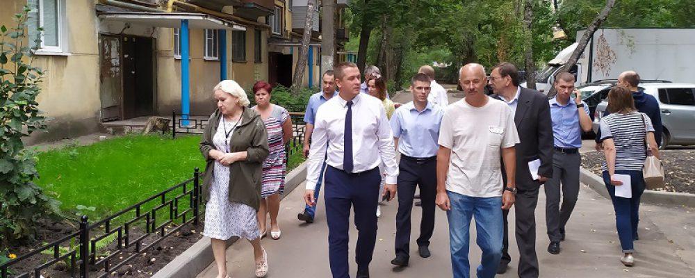 В Левобережном районе межведомственная комиссия приняла все благоустроенные по федеральной программе дворы