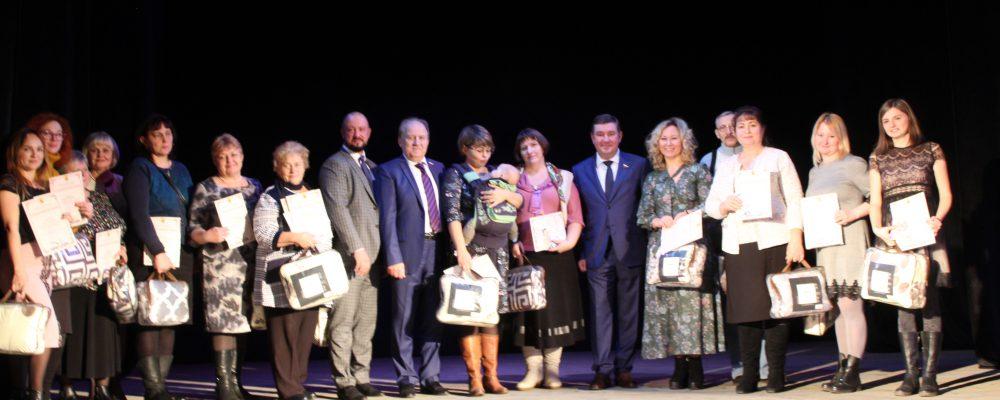 В Левобережном районе прошли мероприятия, посвященные Дню матери