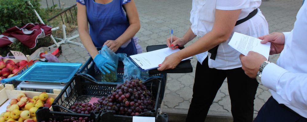 В Левобережном районе продолжаются рейды по пресечению и ликвидации несанкционированной торговли.