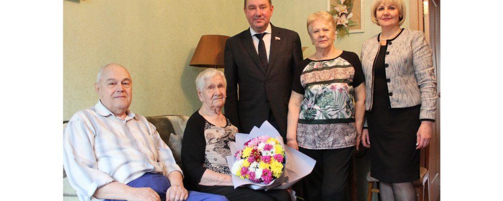 17 февраля  2020 года в Левобережном районе поздравляли со 102-летием участницу боёв за Воронеж Антонину Гавриленко.
