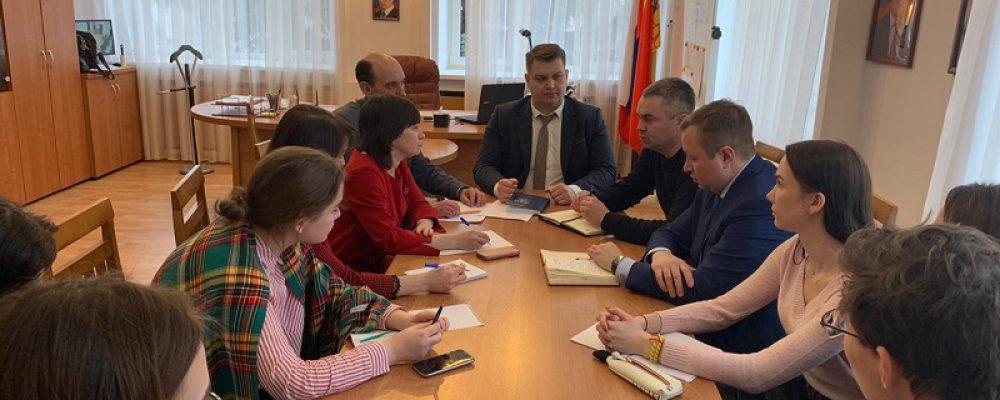 В Левобережном районе состоялась встреча с руководителями Агентства волонтерских проектов ВГТУ