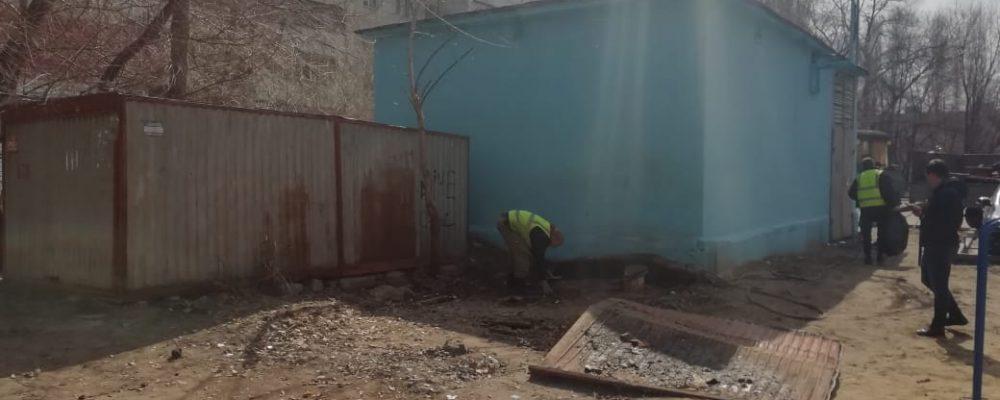 Продолжается работа по демонтажу незаконных сооружений