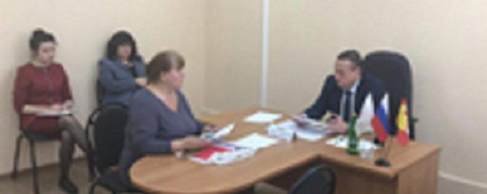 Руководитель управы Левобережного района Вадим Башилов провел первый прием граждан