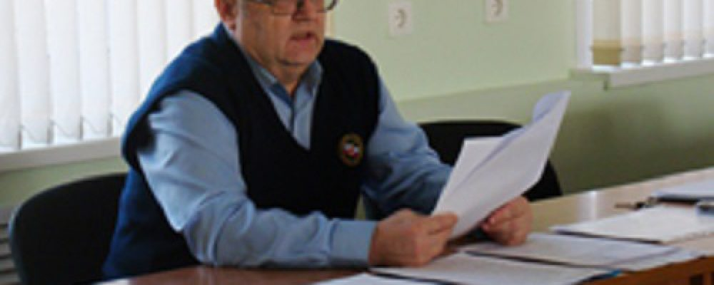 В управе Левобережного района прошло совещания  с уполномоченными на решение задач в области ГОЧС