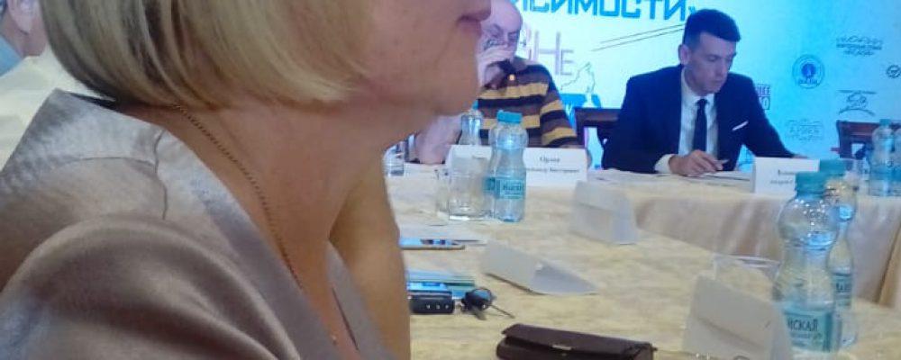 Представители управы Левобережного района приняли участие в молодежном антинаркотическом форуме «Вне зависимости»