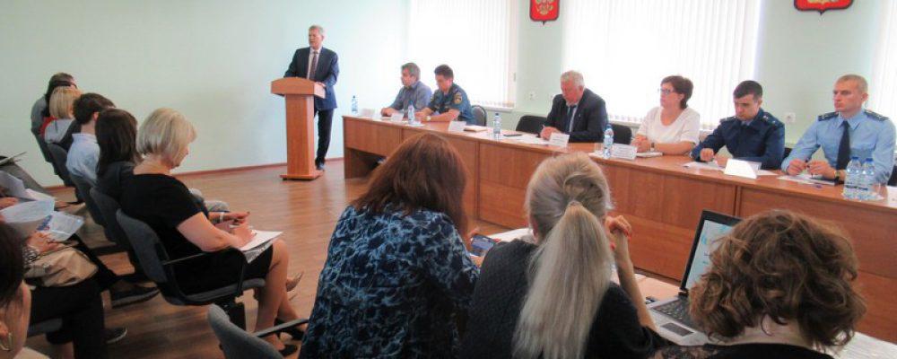 В управе района состоялась встреча президента ТПП ВО с представителями деловых кругов Левобережного и Железнодорожного районов