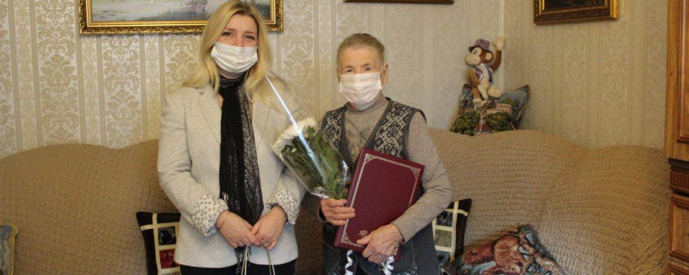 В Левобережном в преддверии празднования  Дня Героя Отечества поздравили Героев Социалистического Труда