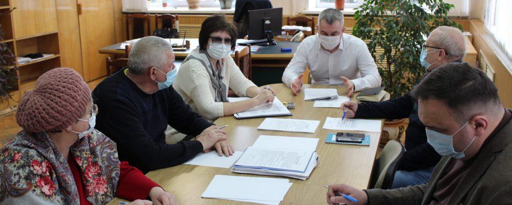 В управе Левобережного района прошла встреча с председателями ТОС и СНТ по подготовке к безаварийному прохождению весеннего паводка.