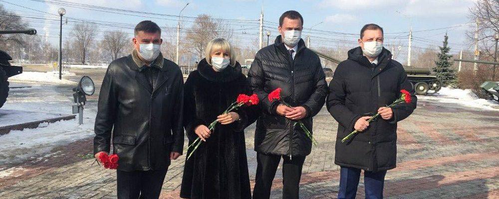 В Левобережном районе прошли мероприятия, приуроченные ко Дню защитника Отечества.