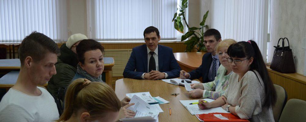 В Левобережном районе продолжается работа по мобилизации доходов в городской бюджет