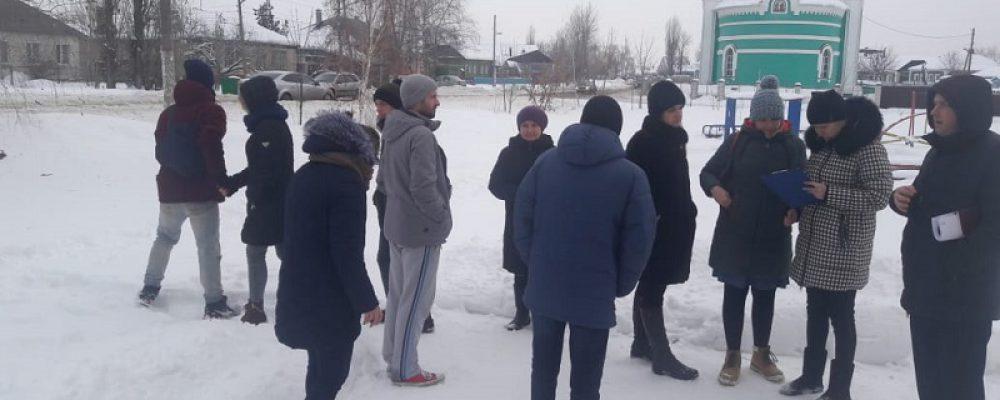 В Левобережном районе продолжается подготовка к реализации проектов местных инициатив