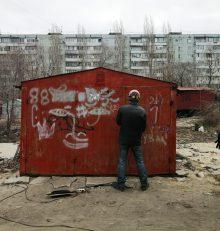 В Левобережном районе продолжается плановая работа по демонтажу незаконно установленных временных сооружений
