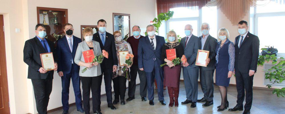 В Левобережной управе поздравили работников учреждений культуры с предстоящим профессиональным праздником