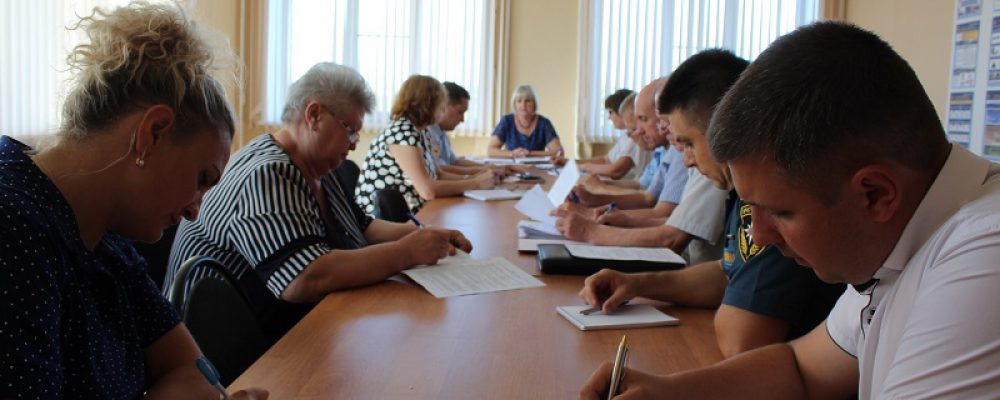 В управе Левобережного района прошло заседание антитеррористической комиссии