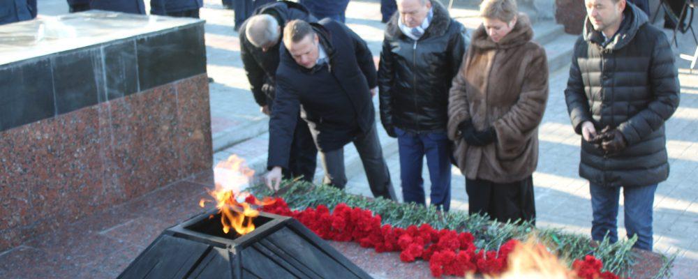 В Левобережном районе прошли мероприятия, посвященные 77-й годовщине освобождения Воронежа от фашистских захватчиков