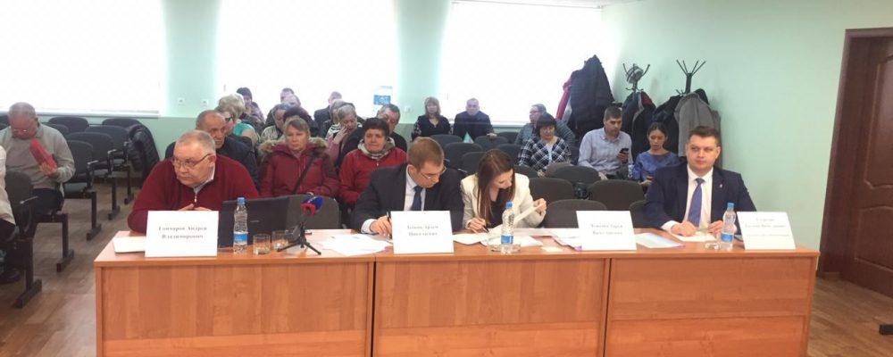 В управе Левобережного района состоялась публичная защита общественно-полезных проектов ТОС