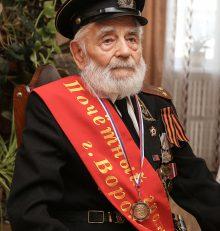 Почетному гражданину Воронежа Ивану Осадчуку исполнилось 105 лет