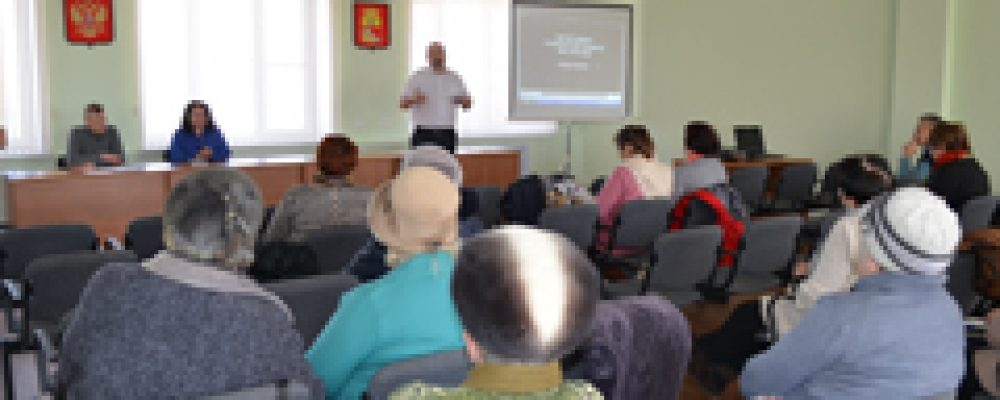 В управе Левобережного района обсудили перспективы реализации общественно-полезных проектов органов ТОС