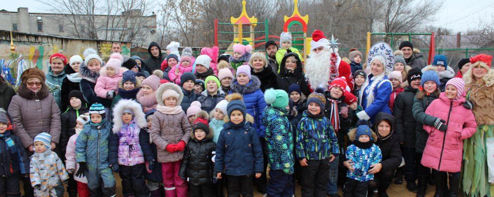 В Левобережном районе прошли новогодние концертно- развлекательные мероприятия для детей и взрослых.